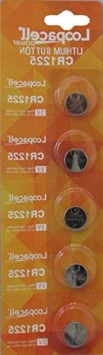Loopacell CR1225 3V Micro Lithium Button Coin Cell Battery 5