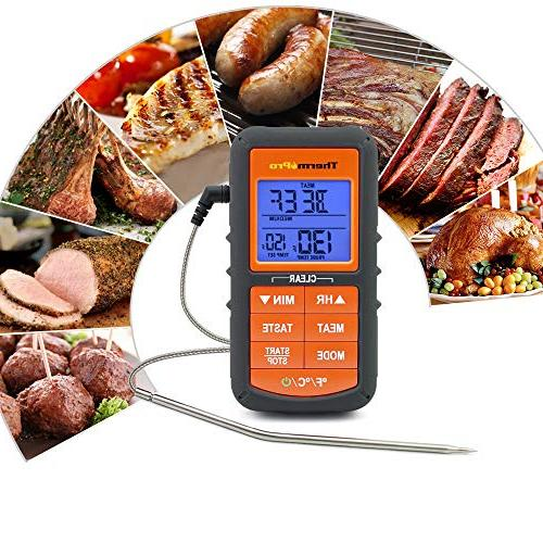 ThermoPro for Grilling BBQ Timer Alarm 3 Colors Display