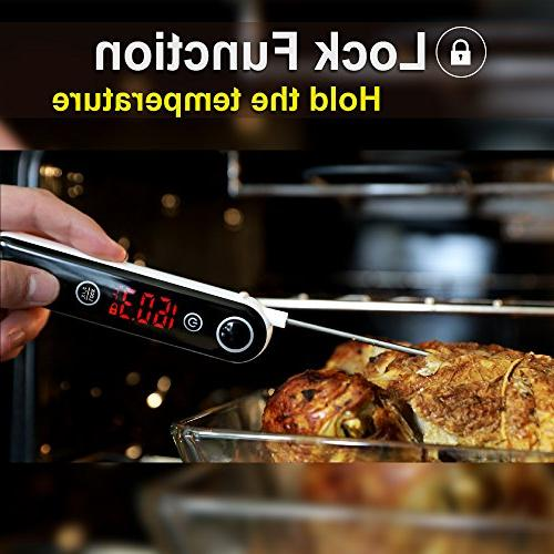 ThermoPro Digital Meat Thermocouple for Kitchen Candy for Grill Oil