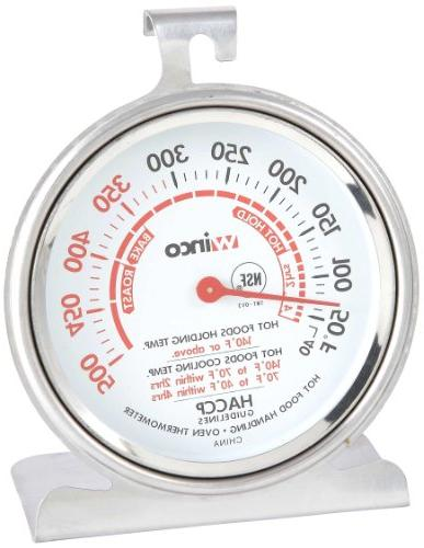 Winco TMT-OV3 B001B4KUPY 3-Inch Dial Oven Thermometer with H