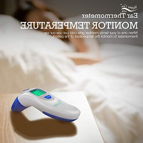 Baby, Children's, Adult and Thermometer - Electronic Dual F & C Temperature Mode, Second For Babies, Ear