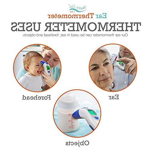 Baby, Children's, and - Temporal Electronic Infrared, Dual Temperature Mode, 1 Second Infants, Babies, Kids Ear Termometro Digital