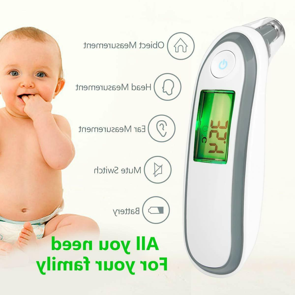 Baby Thermometer for Kids Infant Head Digital Ear