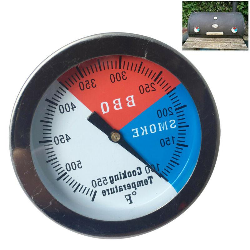 barbecue bbq smoker grill thermometer temperature gauge