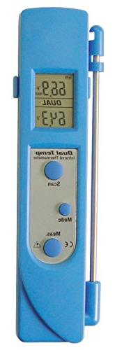 Mastercool  Blue Infrared and Contact Thermometer