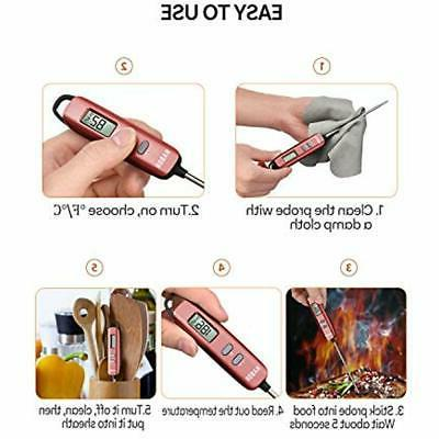 """Candy Habor Thermometer, Instant Cooking With Super """""""