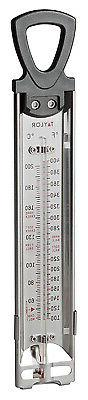 Candy & Deep Fry Thermometer, Stainless Steel, 12-In.