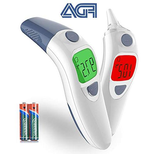 clinical ear forehead thermometer