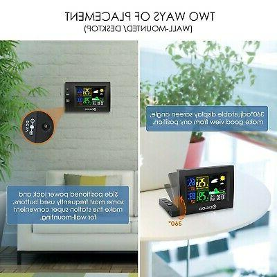 Color Digital Station Wireless Indoor Outdoor