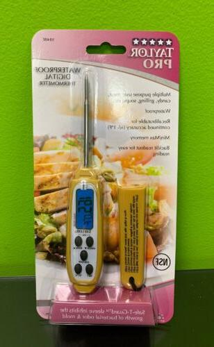 commercial waterproof thermometer 9848e