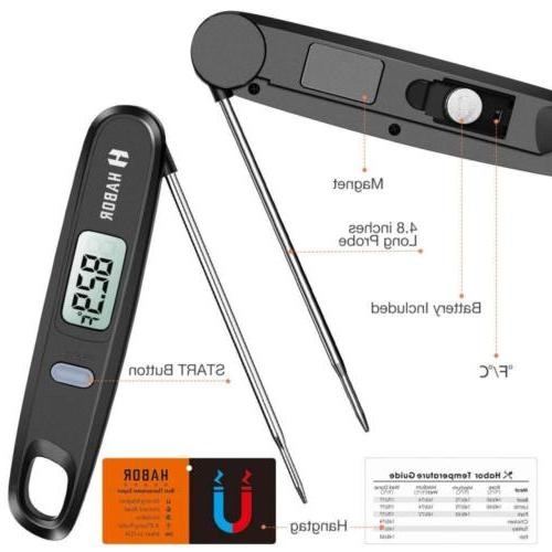 Cooking Thermometer, UPGRADED Meat Read...