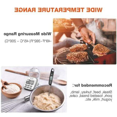 Cooking Thermometer, Habor Meat Thermometer