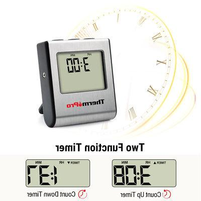 ThermoPro Digital Cooking Meat Thermometer Smoker Food