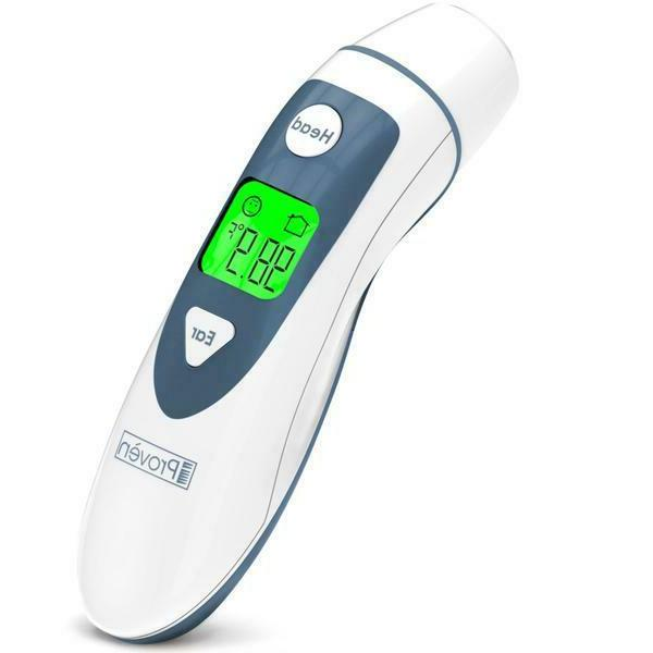 digital ear and forehead thermometer new dmt489
