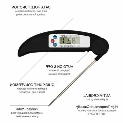 Digital Food Meat Thermometer BBQ Instant