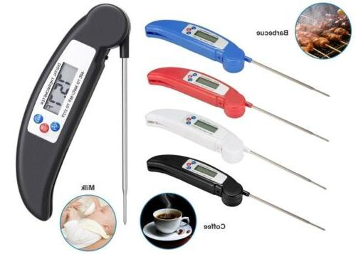 digital food thermometer probe temperature kitchen cooking