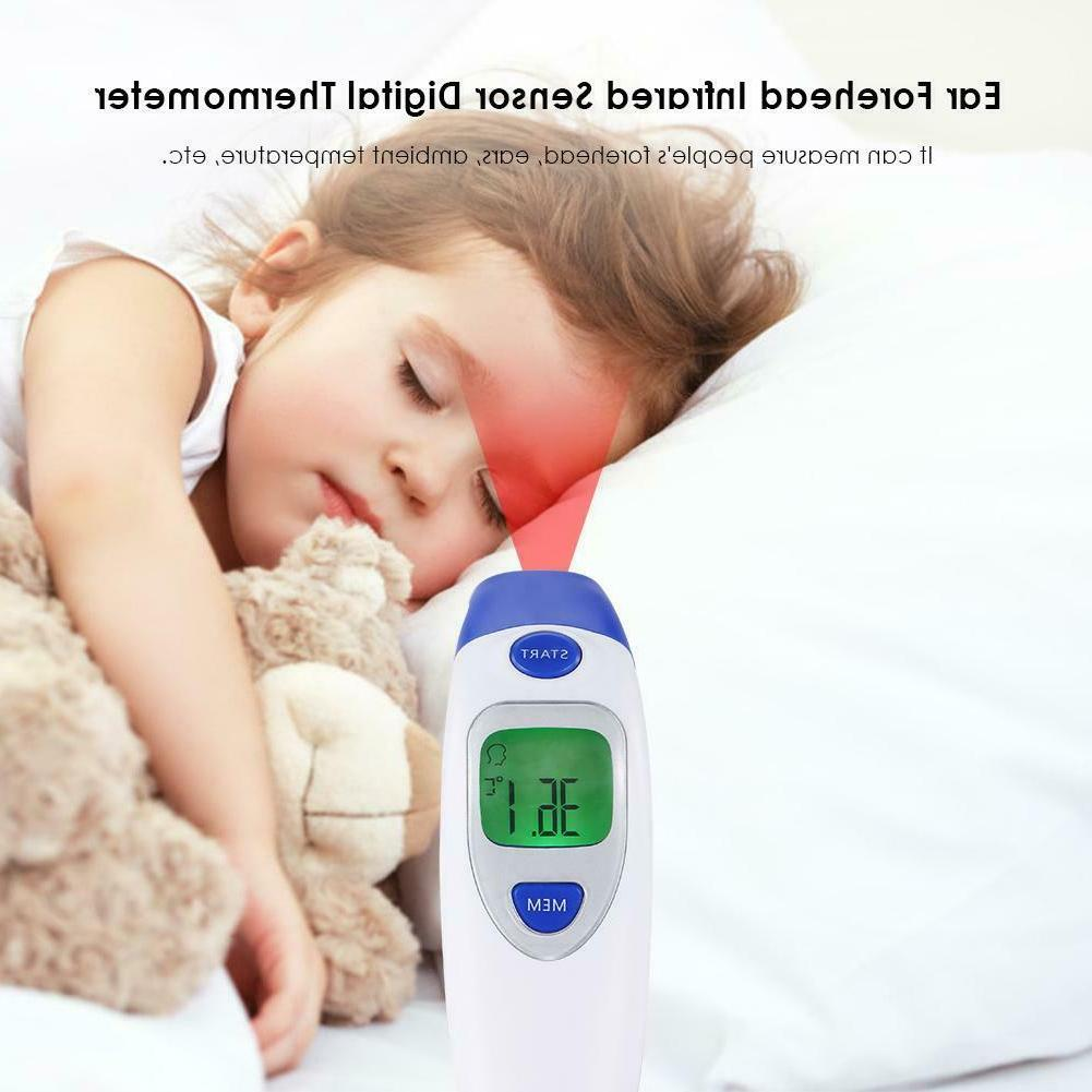 digital forehead ear thermometer baby kids adult