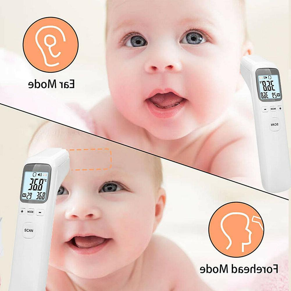 Infrared Contact Adult Baby Body Forehead Thermometer
