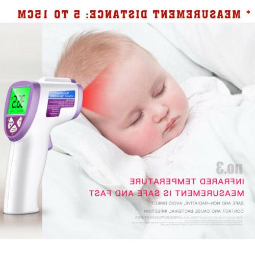 Digital Infrared Thermometer For Baby Adult