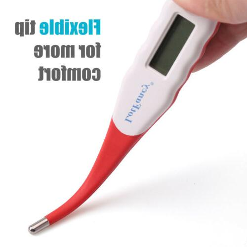Digital LCD Heating Thermometer Oral Underarm Adult