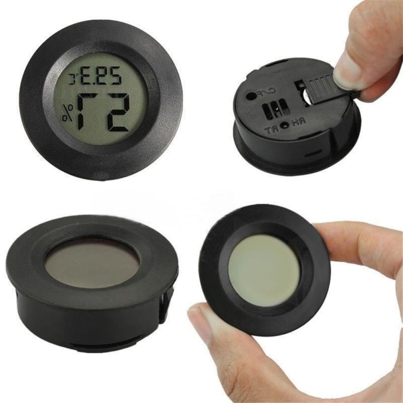 Digital LCD Outdoor Round Home
