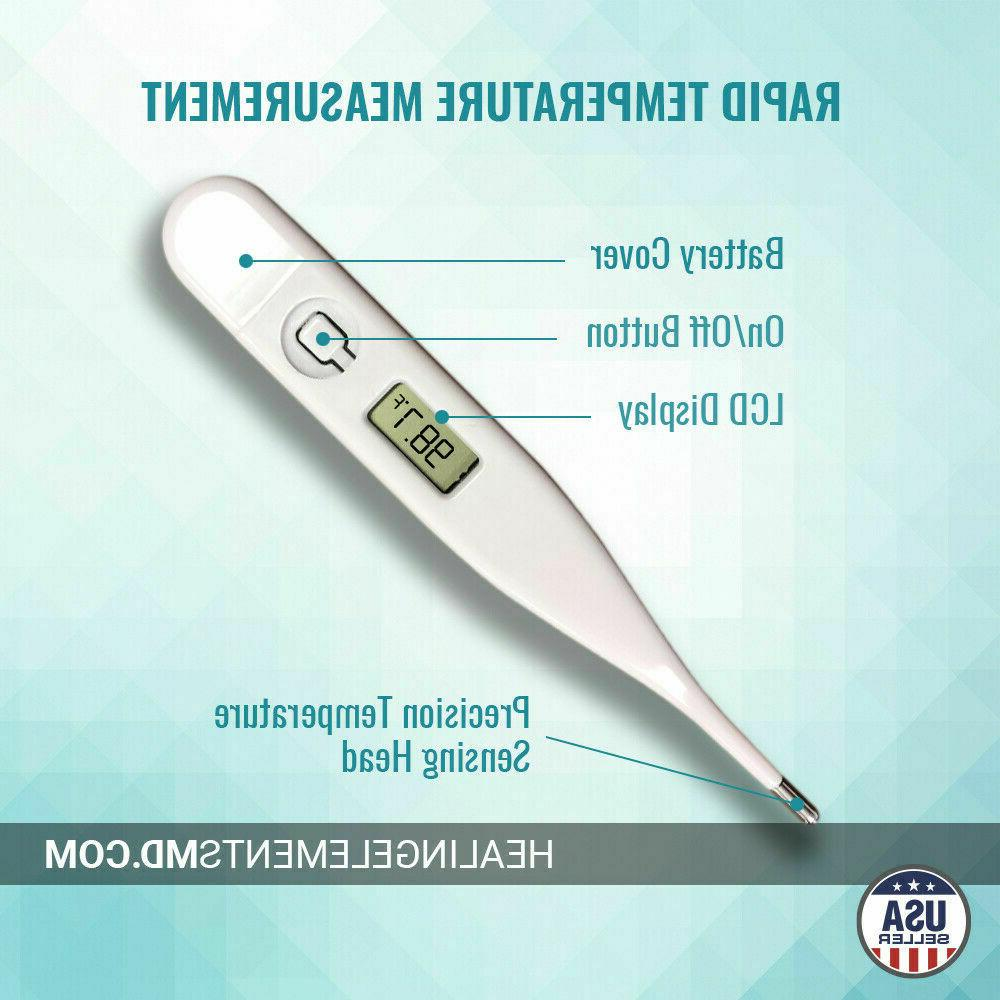 Digital LCD Thermometer Baby Safe Mouth Temperature