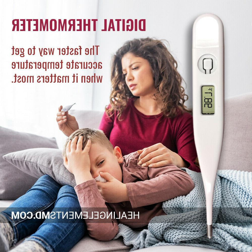 digital lcd thermometer medical baby adult body