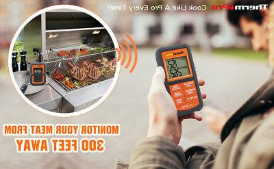 Dual Probes Wireless LCD Kitchen