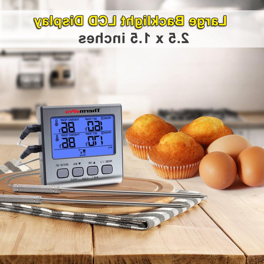 ThermoPro Digital Meat Thermometer Grill Thermometer