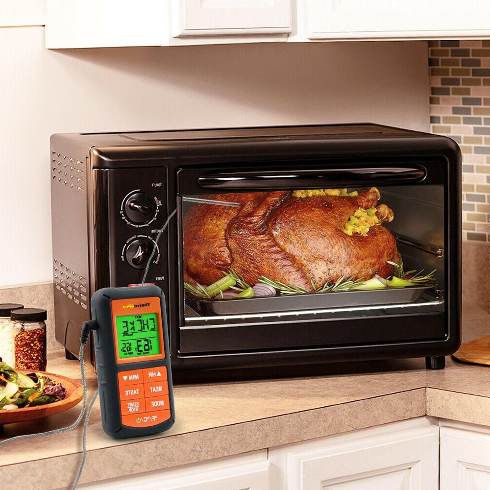 ThermoPro Digital Thermometer Cooking Smoker BBQ