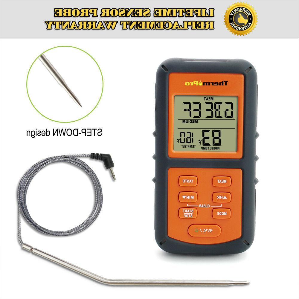 ThermoPro Thermometer Smoker BBQ Thermometer