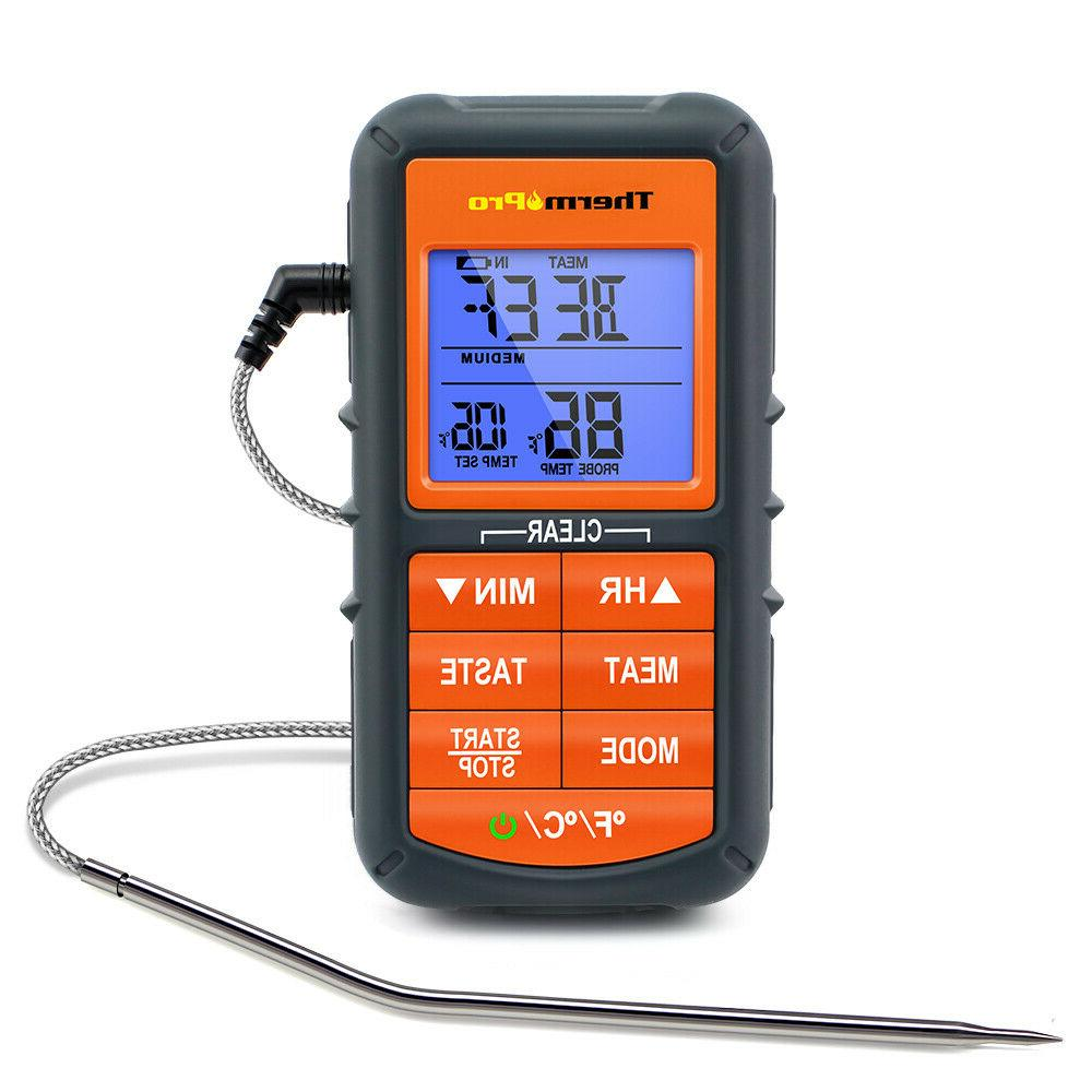 ThermoPro Meat Thermometer Digital LCD Cooking Oven Grill Th