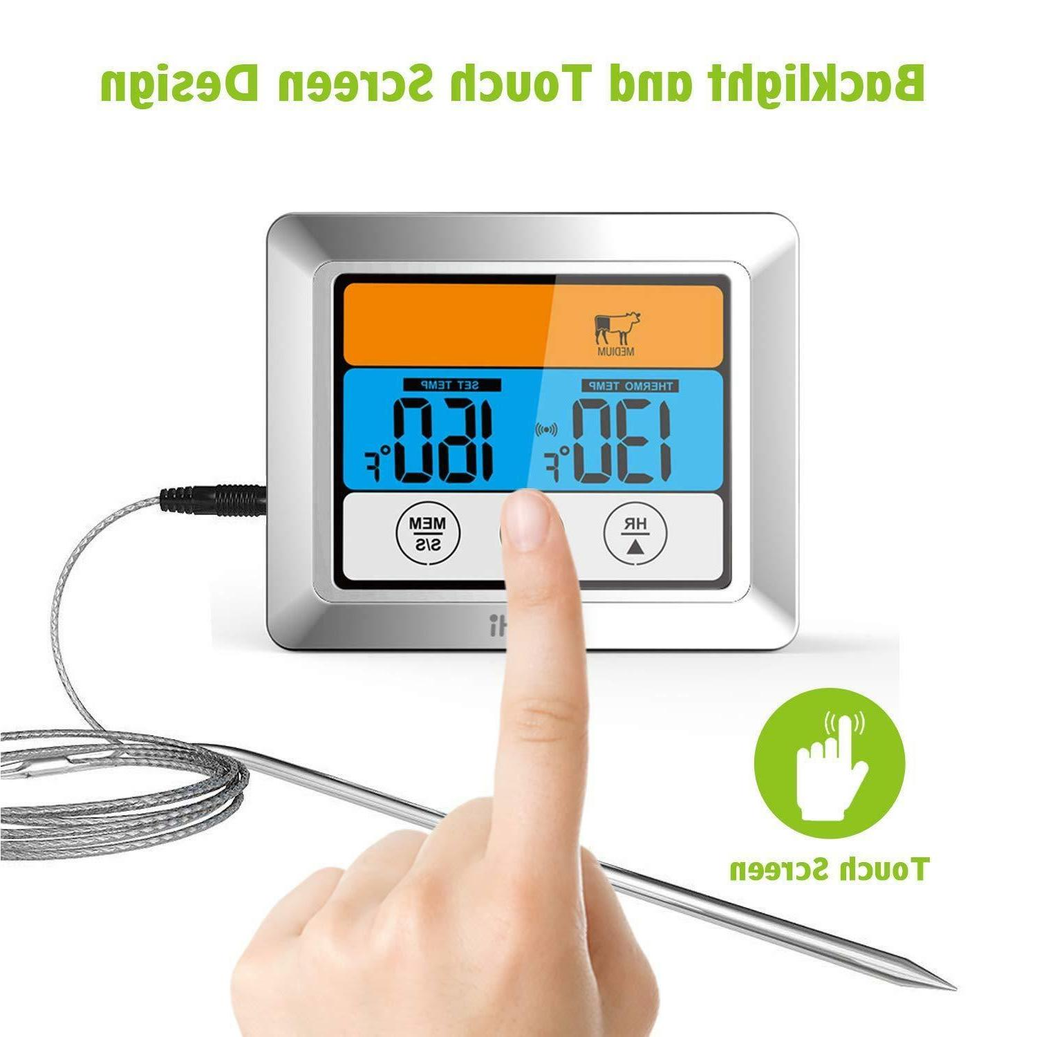 Digital Instant Oven Grill Thermometer