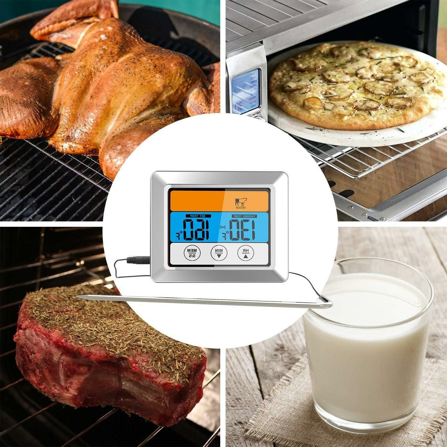 Digital Thermometer Timer Instant Oven