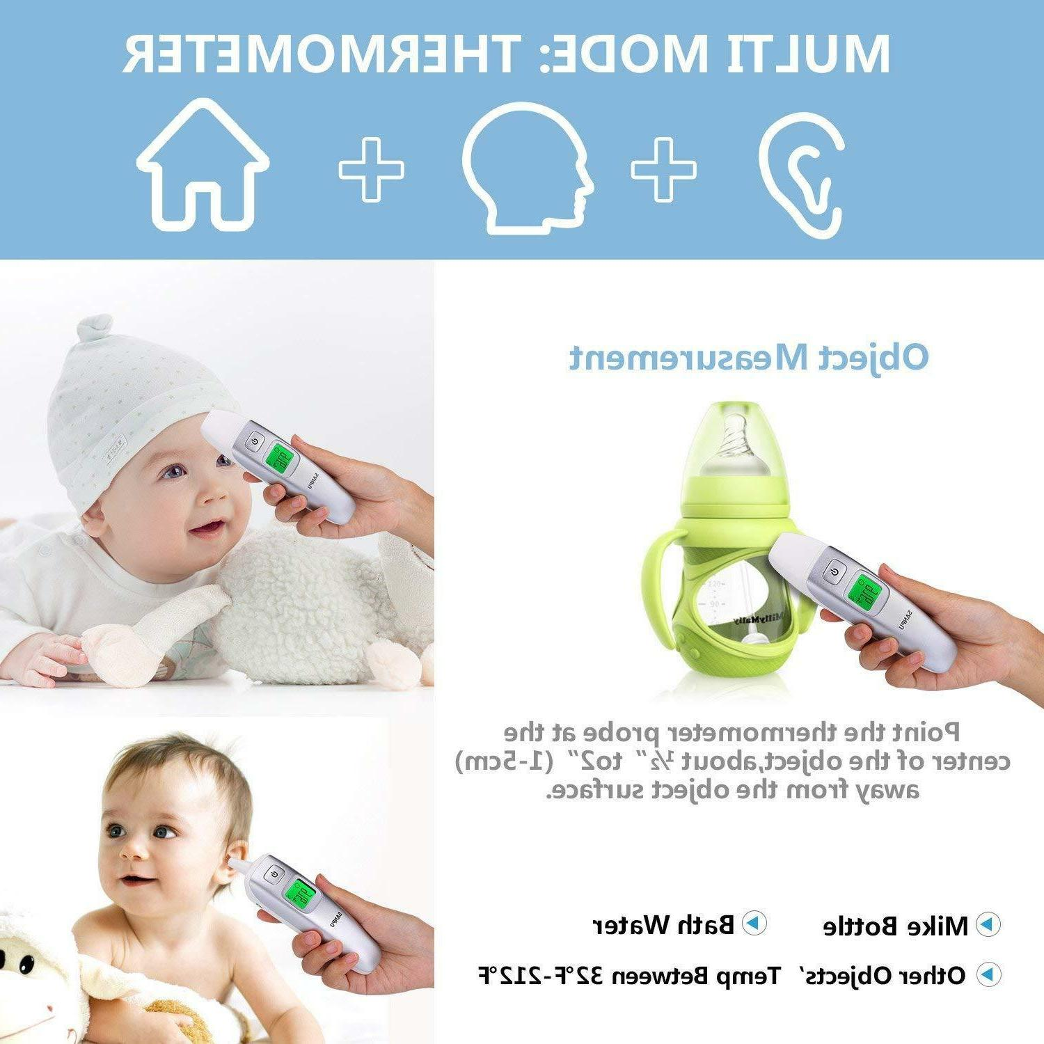 SANPU Digital Forehead and Ear for Baby Adults