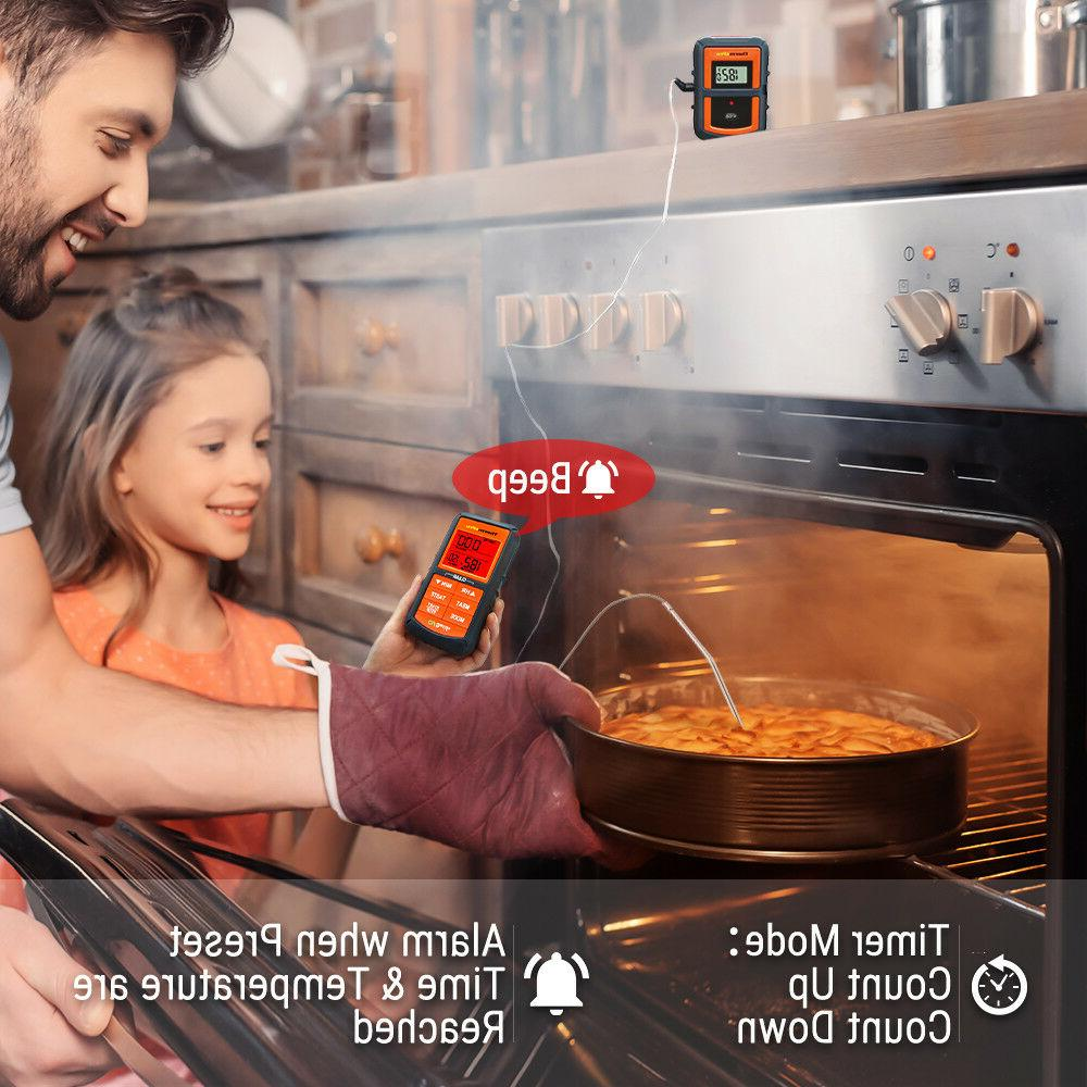 ThermoPro Digital Wireless Meat for Grill Smoker