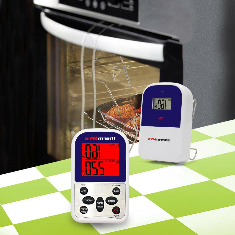 ThermoPro Meat Wireless Digital Cooking BBQ Oven Grill