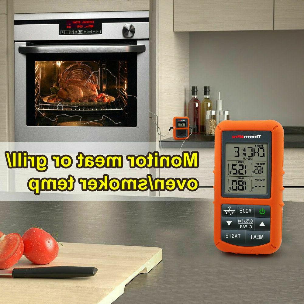 ThermoPro Wireless Remote Meat Thermometer Probe Cooking TP20