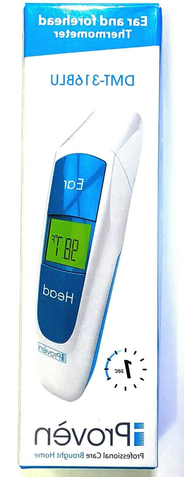 iProven Dual Ear Forehead Fever Alarm Thermometer DMT-316