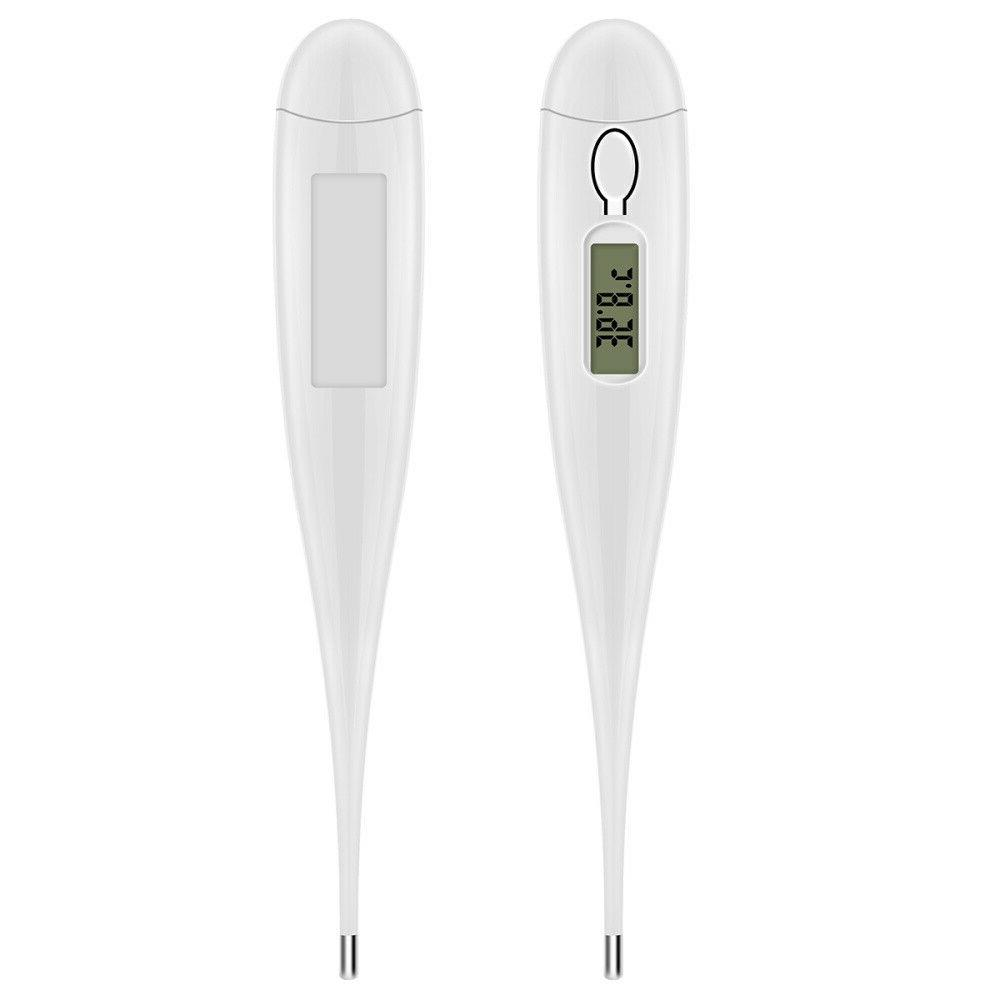 Electronic Digital LCD Thermometer Medical Adult Oral Armpit US