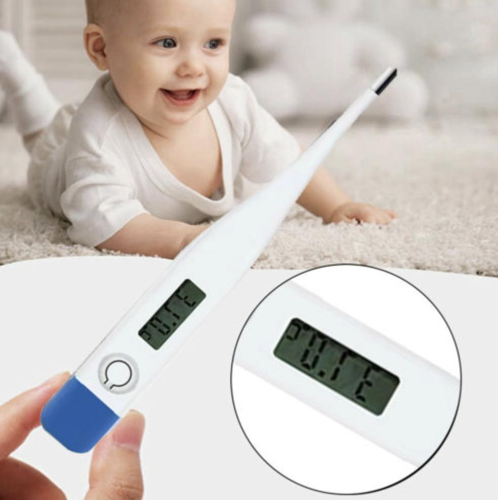 Electronic Digital Thermometer Adult Fever Temperature