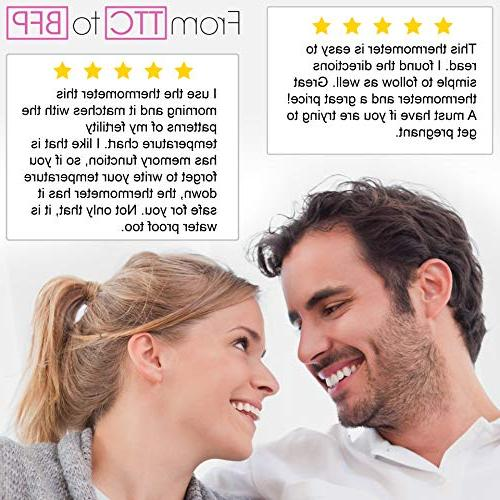 Fertility BBT Thermometer - iProven Accuracy - to Conceive The - Ovulation and Prediction