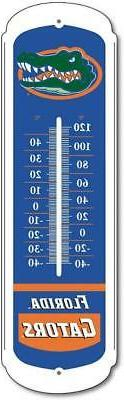 Florida Gators 27 Inch Outdoor Thermometer  NCAA Weather Sun