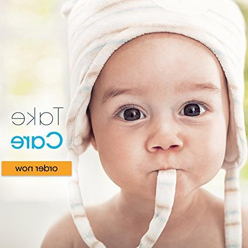 Baby Forehead and Ear Temperature Digital Non and with Object -Easy Your Pacifier - -