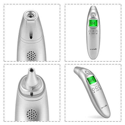 Metene Forehead and Digital Non-Contact with Alarm Easy Adult Family with FDA Approved