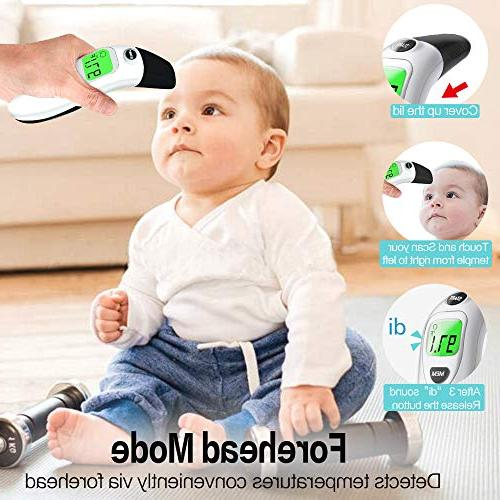 Baby Thermometer for Fever Digital Thermometer for Infant, Kids, and