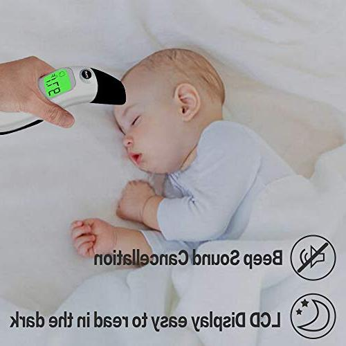 Baby Forehead Thermometer Digital Infrared Thermometer Infant, Kids, Child and Adults-CE and
