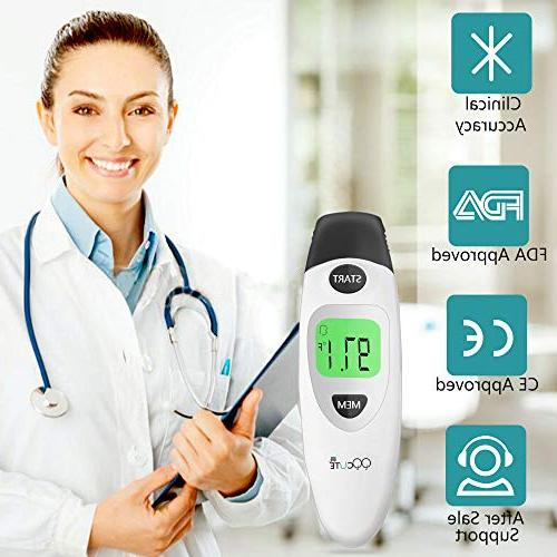 Baby Forehead and Thermometer Digital Medical Infrared Thermometer Infant, Baby, Kids, and Adults-CE and