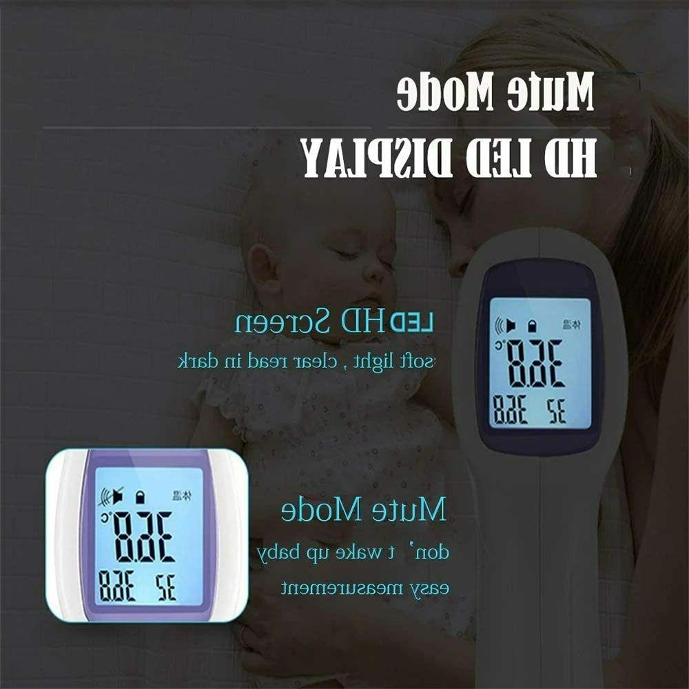 Forehead Non-Contact Digital Thermometer
