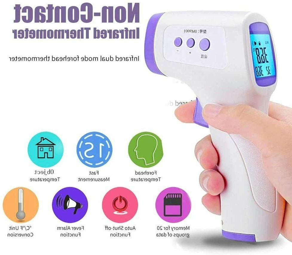 Forehead Thermometer, Non-Contact Digital Thermometer
